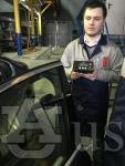 Измерение светового коэффициента пропускания автомобильных стекол